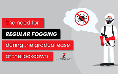 The need for regular fogging during the gradual ease of the lockdown