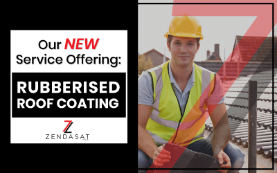 Our New Service Offering – Rubberised Roof Coating